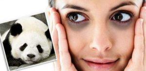 Menghilangkan Mata Panda