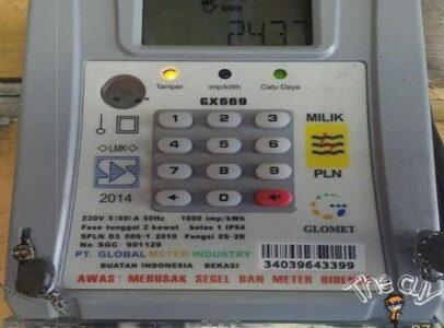 kode meteran listrik
