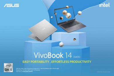 ASUS VivoBook 14 A416 – Easy Portability, Effortless Productivity
