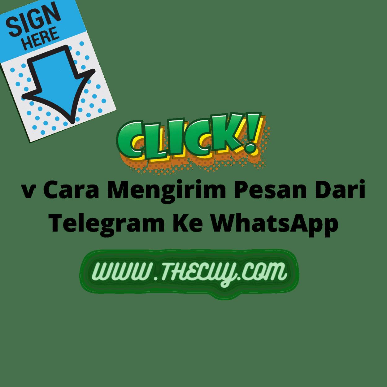 ѵ Cara Mengirim Pesan Dari Telegram Ke WhatsApp