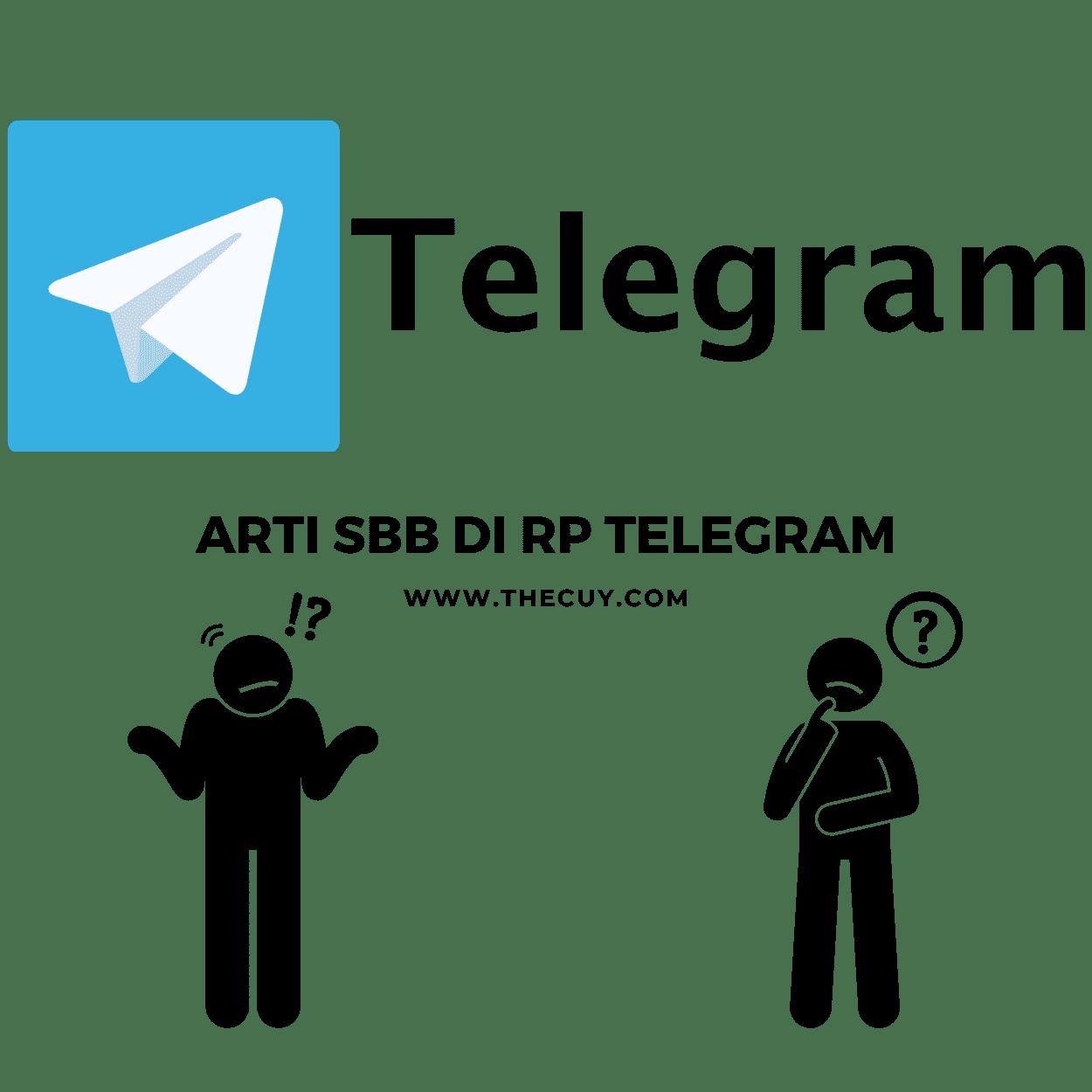 Arti SBB di RP Telegram
