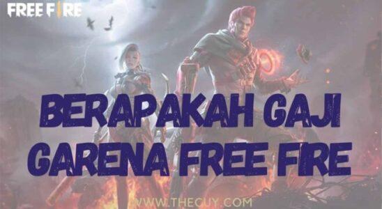 Berapakah Gaji Garena Free Fire