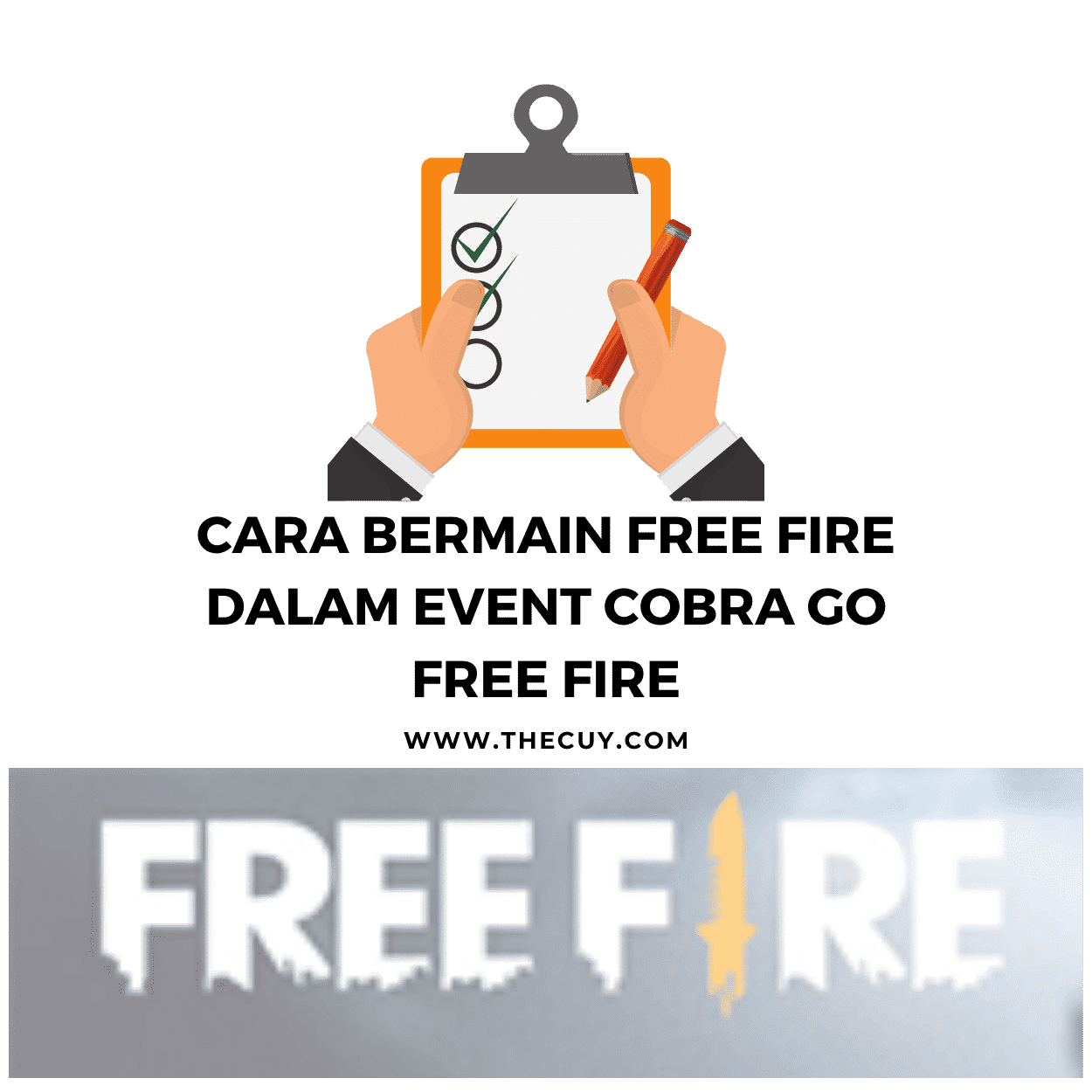 Cara Bermain Free Fire Dalam Event Cobra Go Free Fire