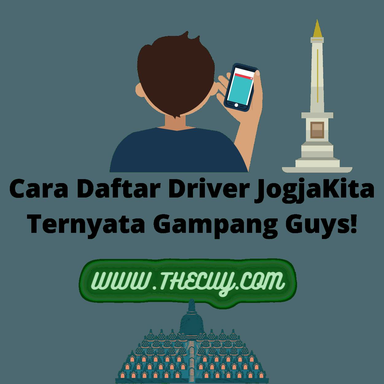 Cara Daftar Driver JogjaKita Ternyata Gampang Guys!
