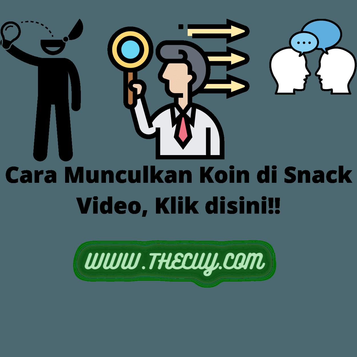 Cara Munculkan Koin di Snack Video, Klik disini!!
