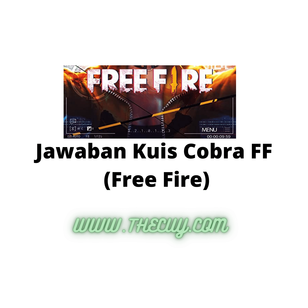 Jawaban Kuis Cobra FF
