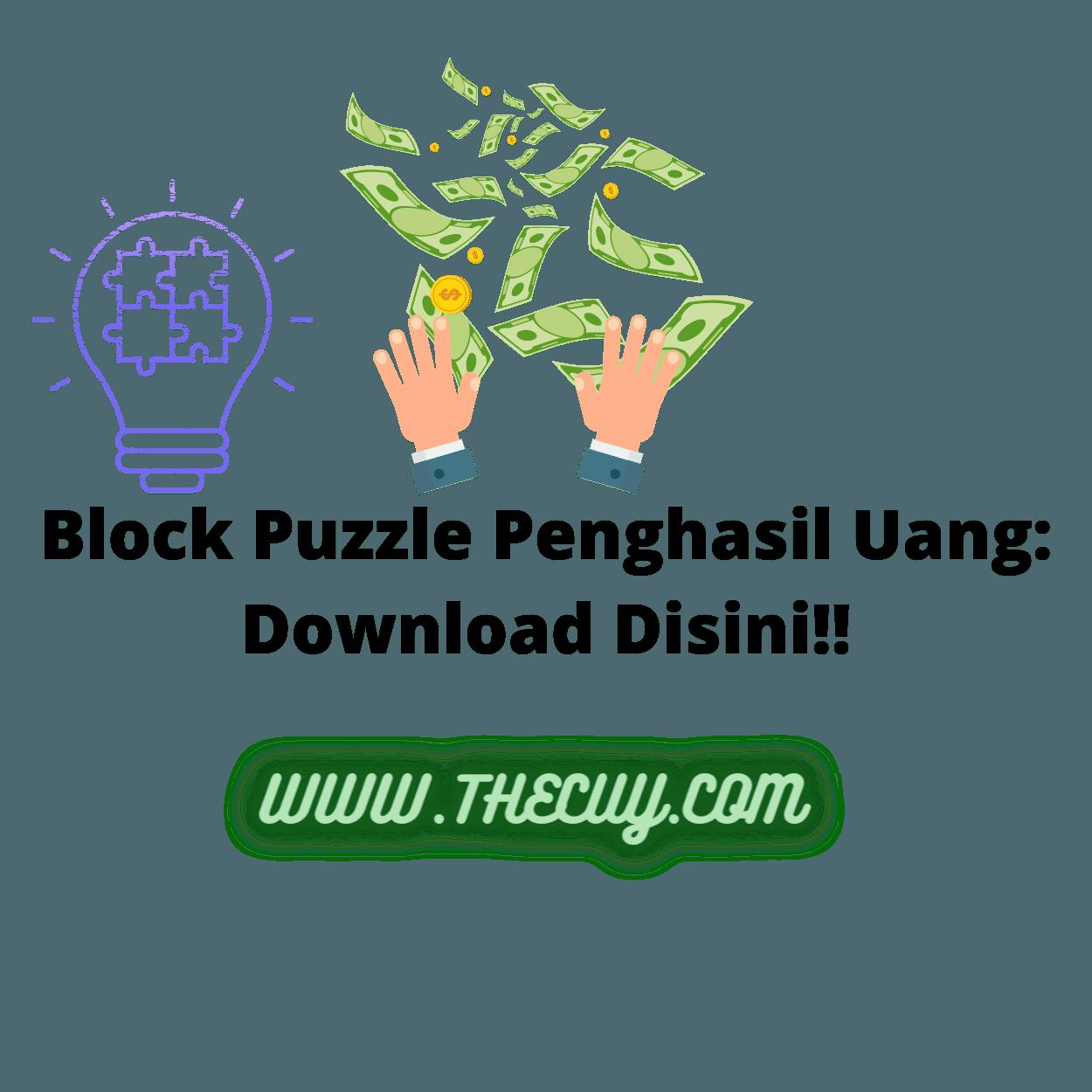 Block Puzzle Penghasil Uang: Download Disini!!