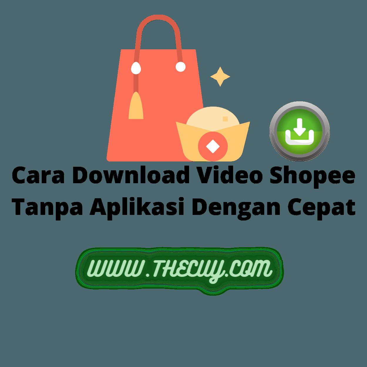 Cara Download Video Shopee Tanpa Aplikasi Dengan Cepat