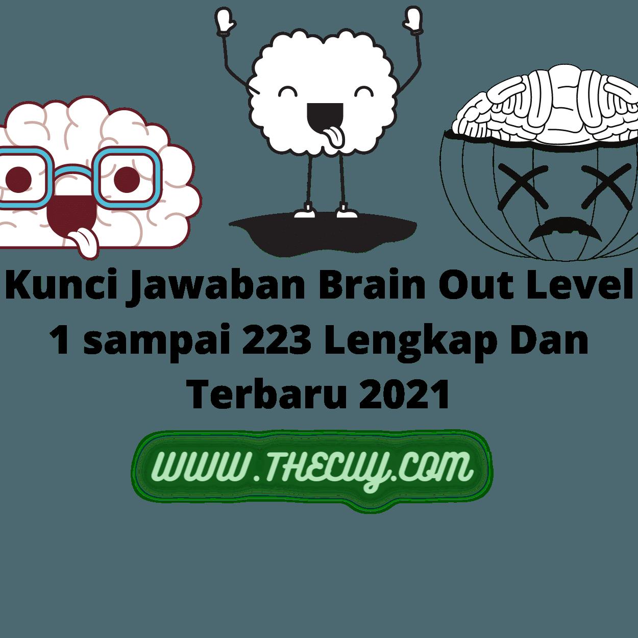 Kunci Jawaban Brain Out Level 1 sampai 223 Lengkap Dan Terbaru 2021