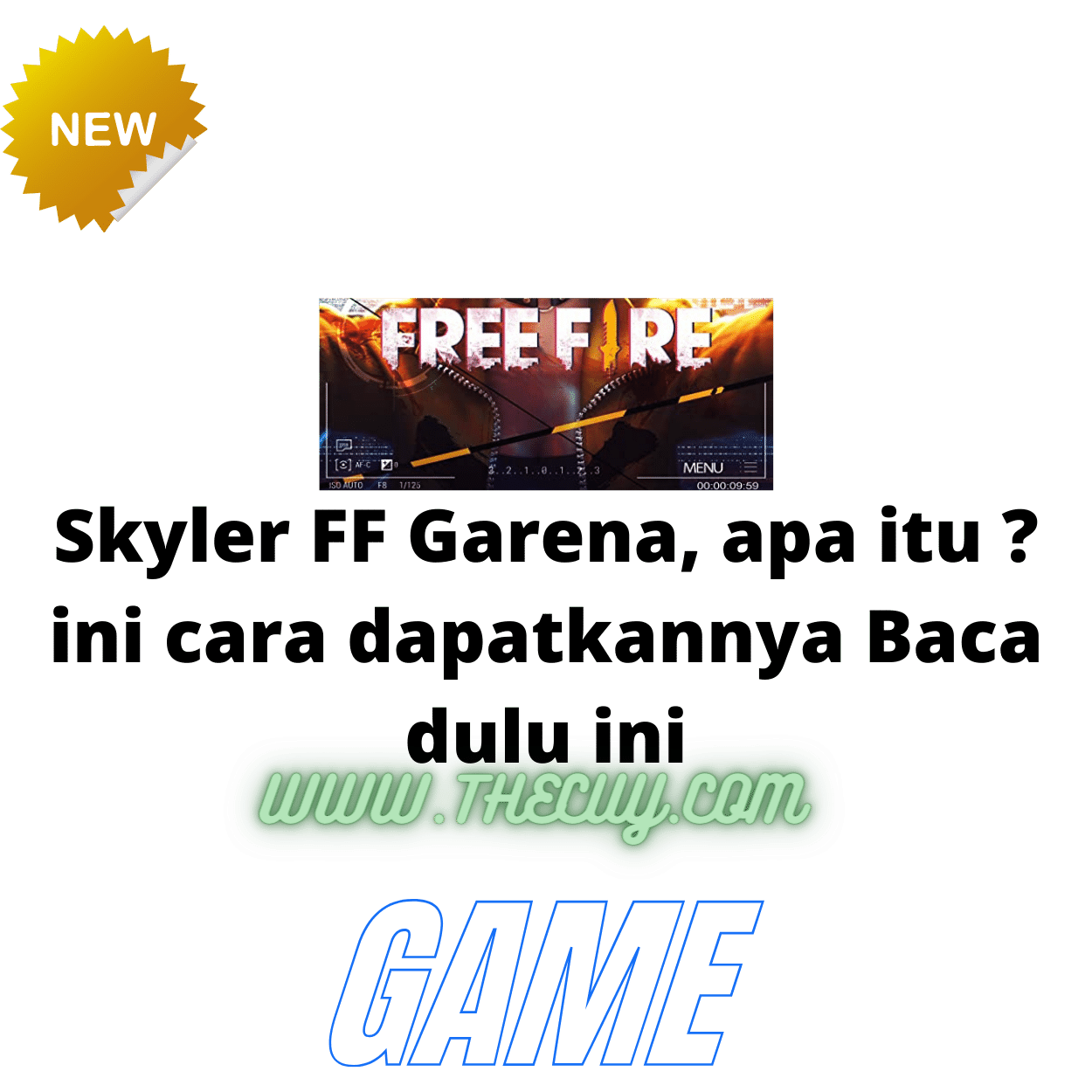 Skyler FF Garena, apa itu ? ini cara dapatkannya Baca dulu ini