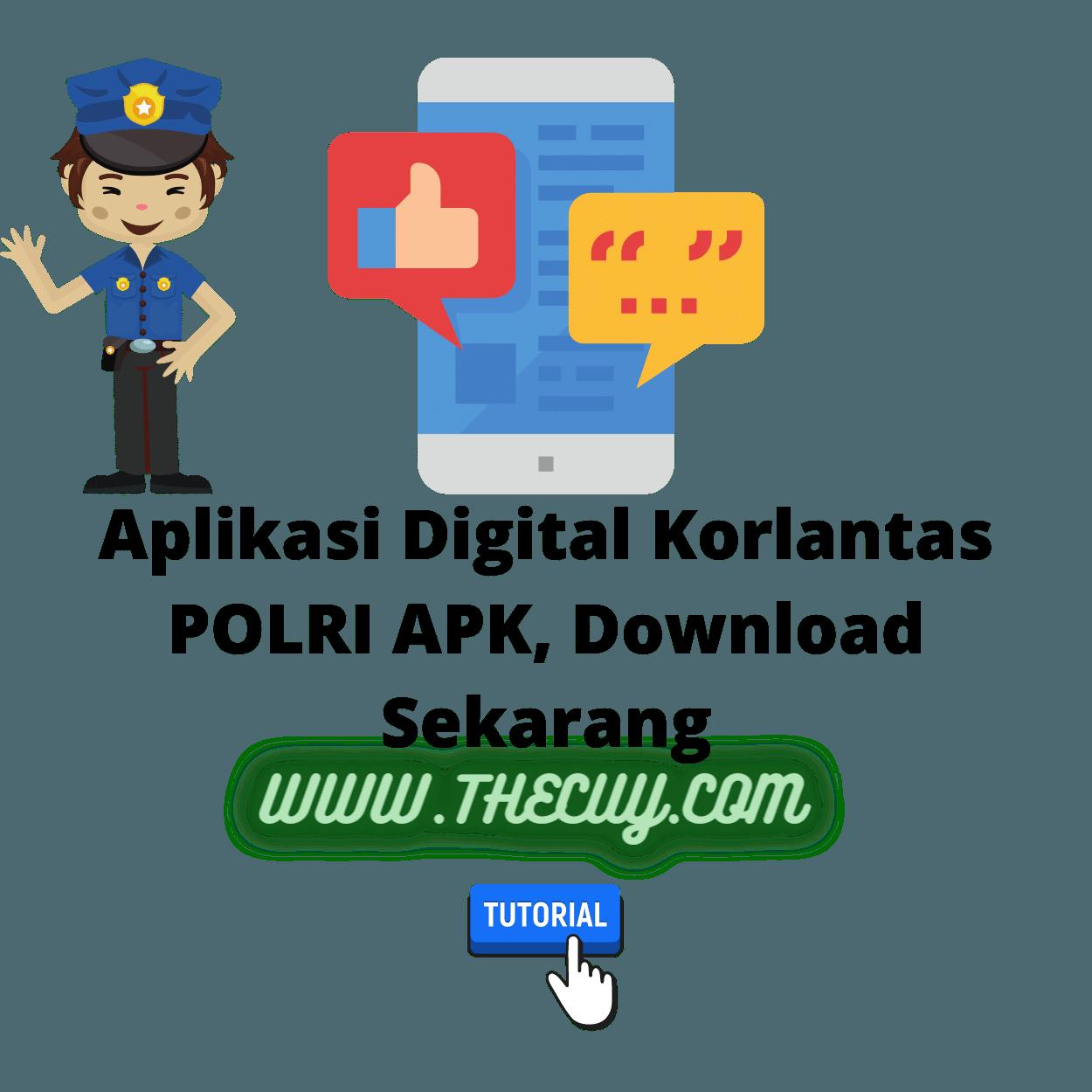 Aplikasi Digital Korlantas POLRI APK, Download Sekarang