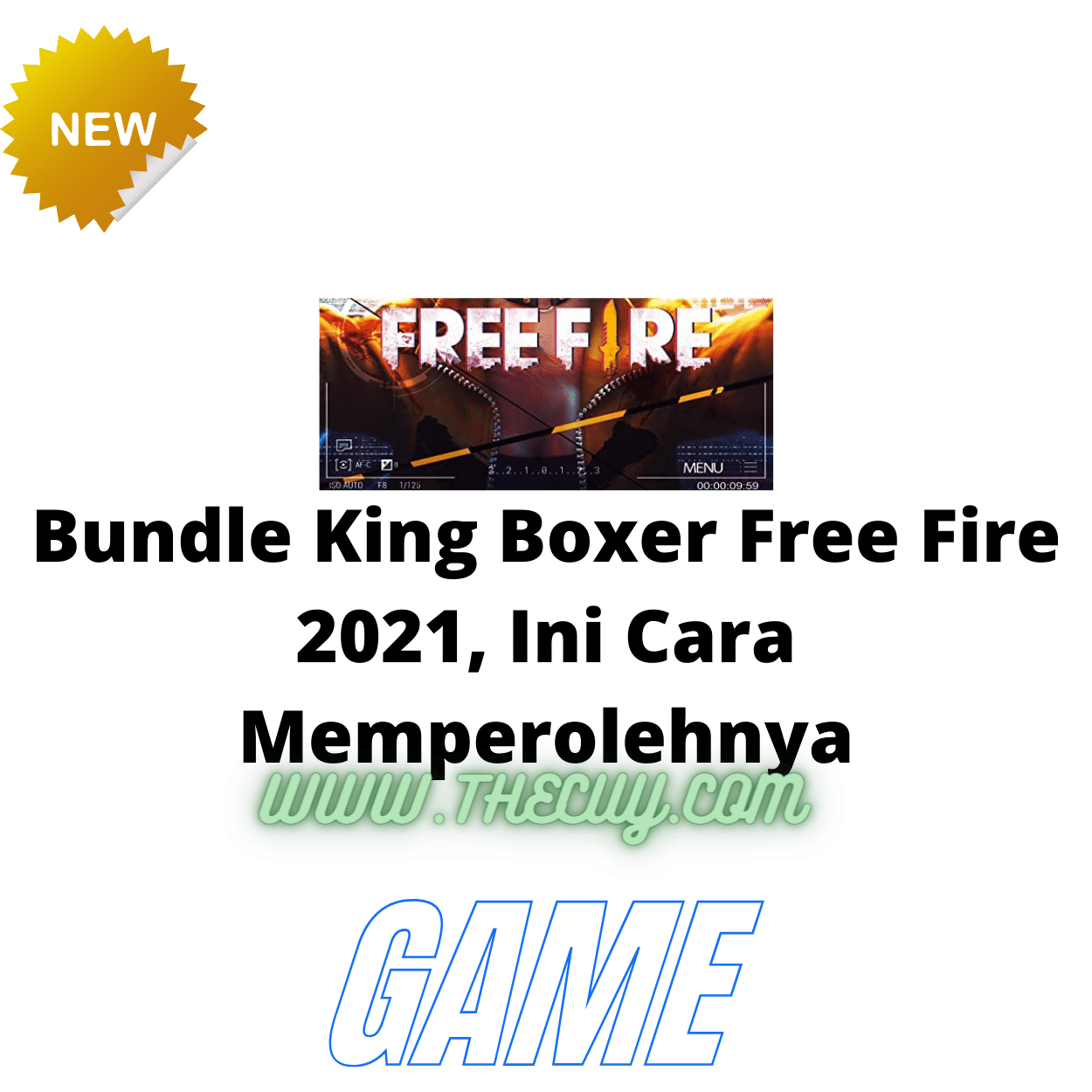 Bundle King Boxer Free Fire 2021, Ini Cara Memperolehnya
