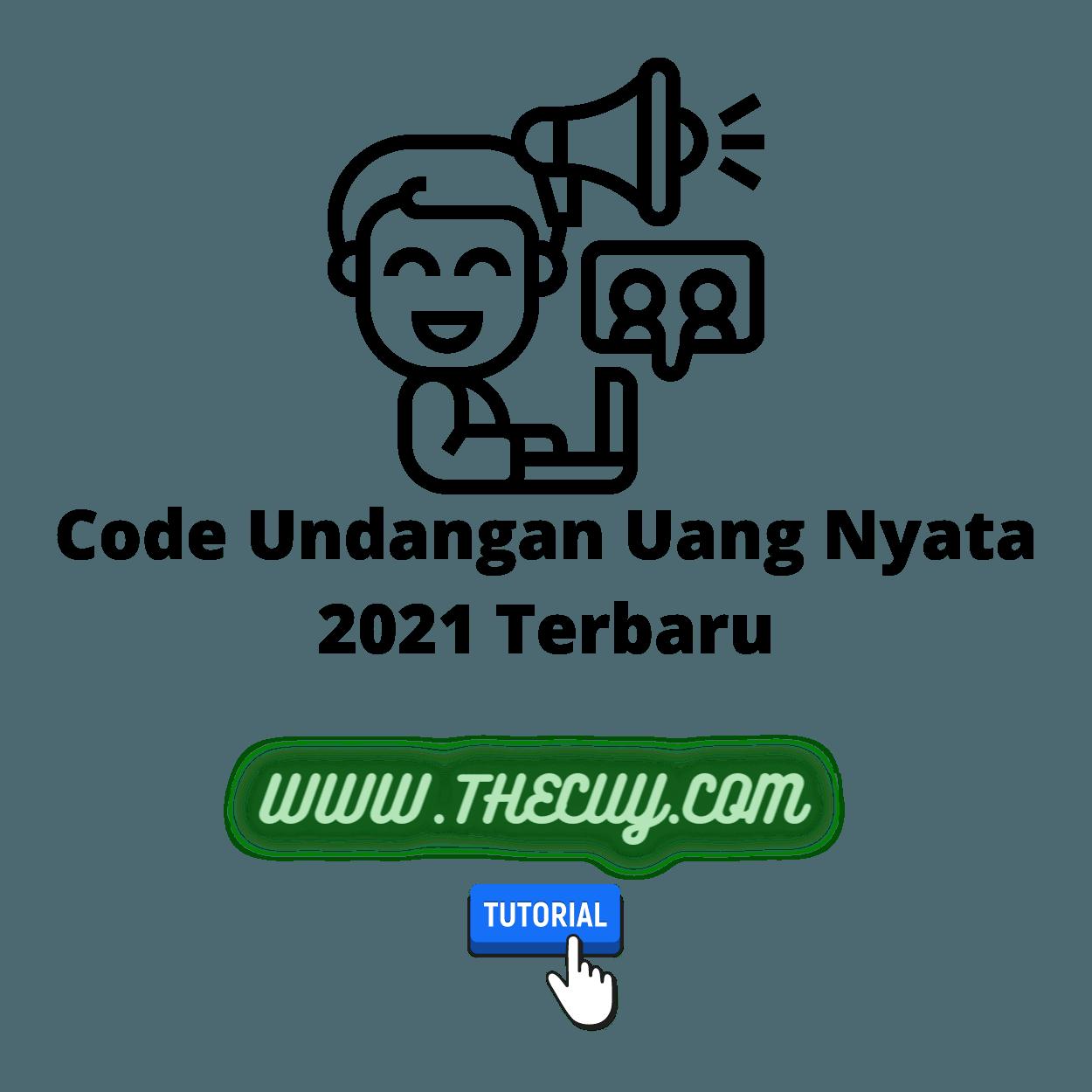 Code Undangan Uang Nyata 2021 Terbaru