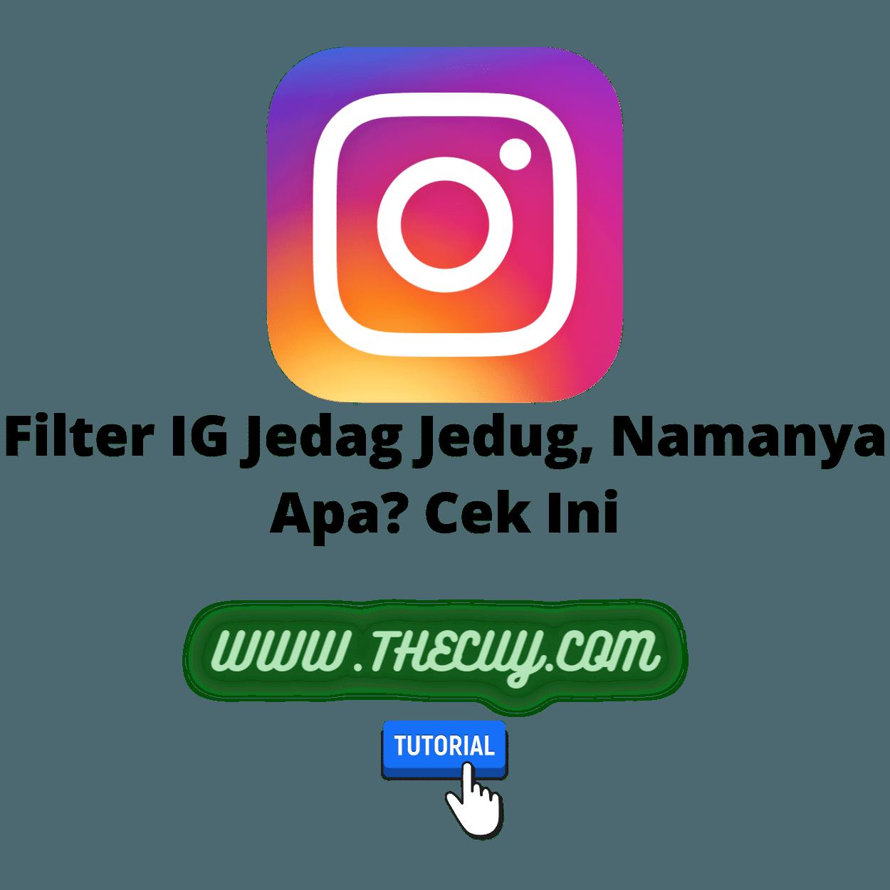 Filter IG Jedag Jedug, Namanya Apa? Cek Ini