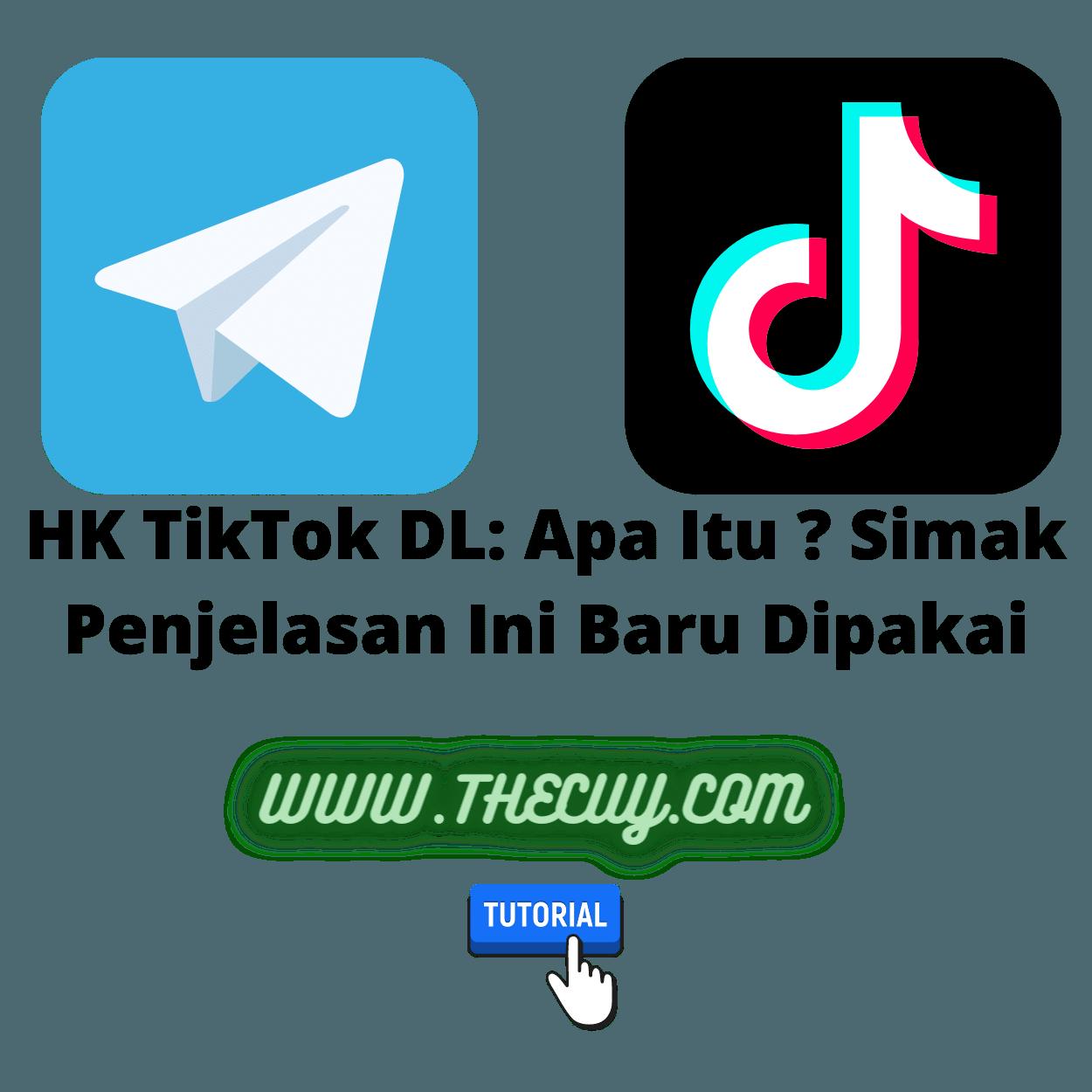 HK TikTok DL: Apa Itu ? Simak Penjelasan Ini Baru Dipakai