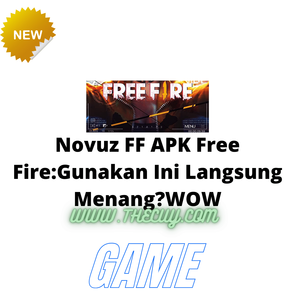Novuz FF APK Free Fire:Gunakan Ini Langsung Menang?WOW