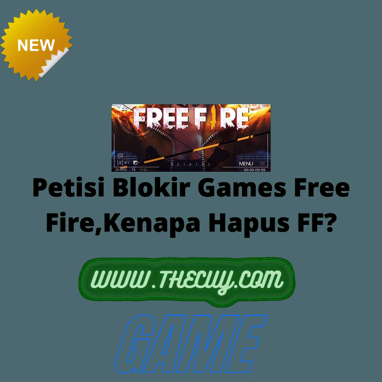 Petisi Blokir Games Free Fire,Kenapa Hapus FF?