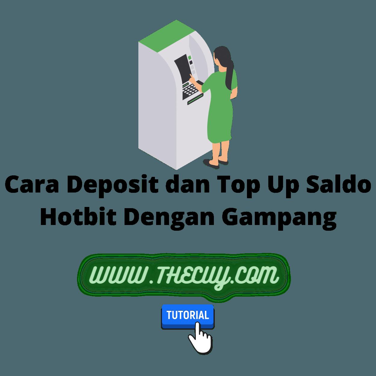 Cara Deposit dan Top Up Saldo Hotbit Dengan Gampang