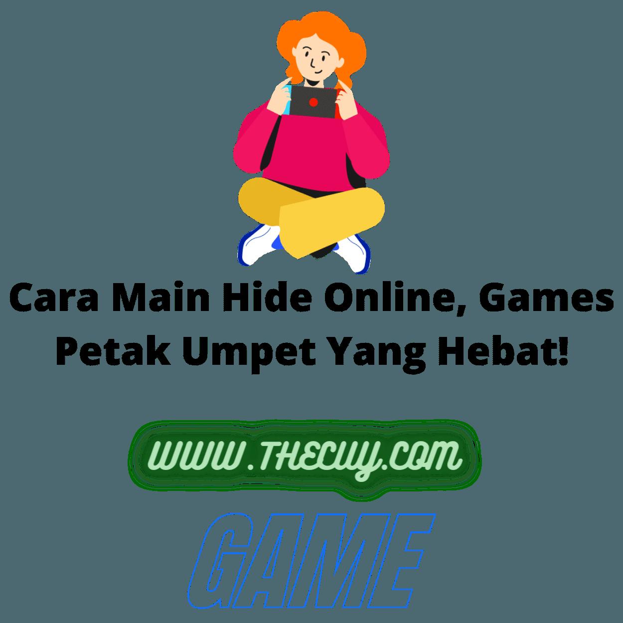 Cara Main Hide Online, Games Petak Umpet Yang Hebat!