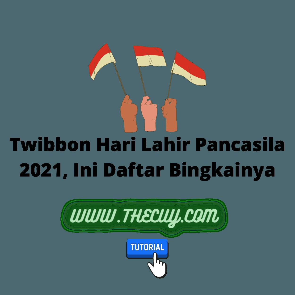 Twibbon Hari Lahir Pancasila 2021, Ini Daftar Bingkainya
