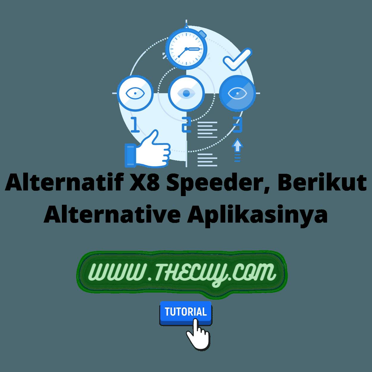 Alternatif X8 Speeder, Berikut Alternative Aplikasinya