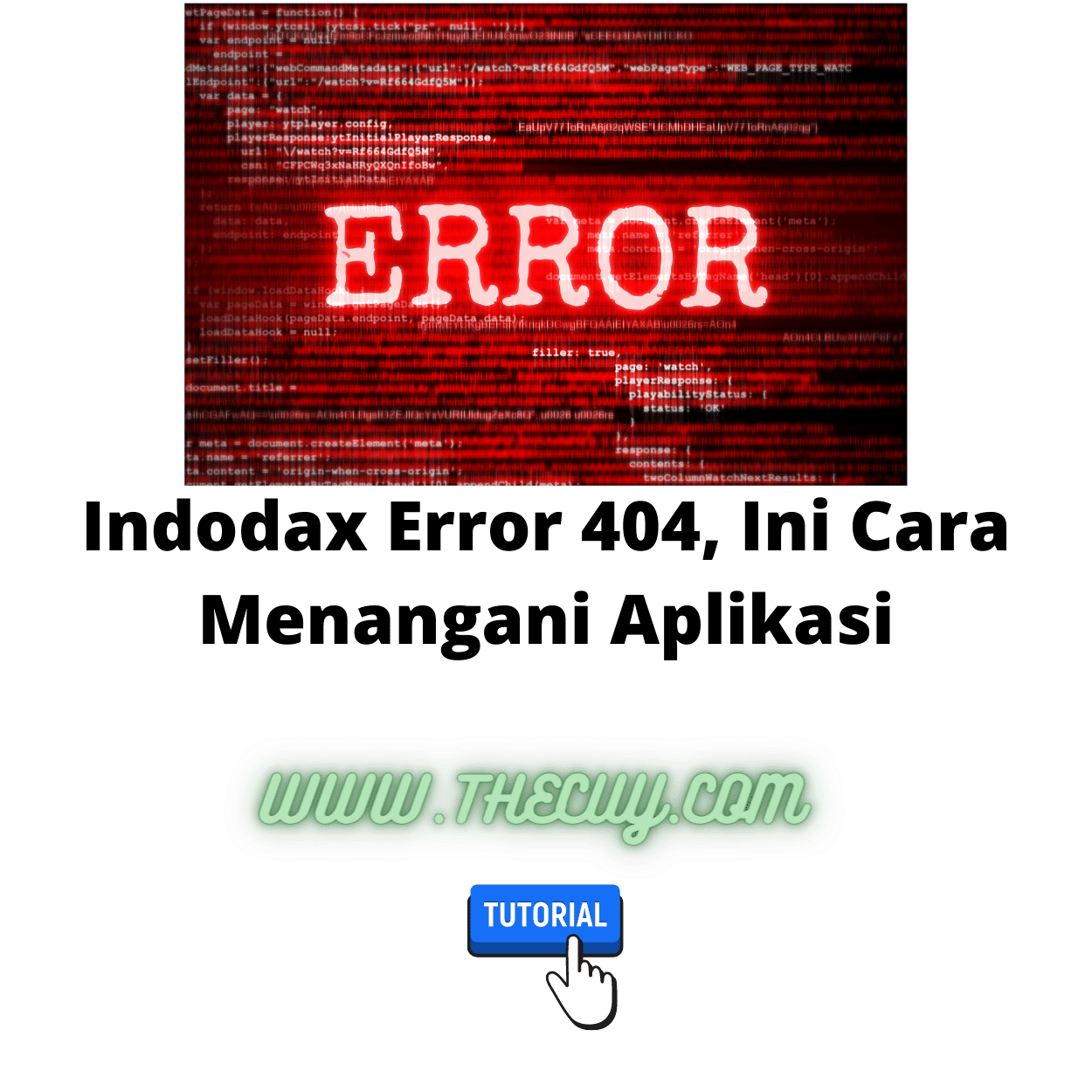 Indodax Error 404, Ini Cara Menangani Aplikasi