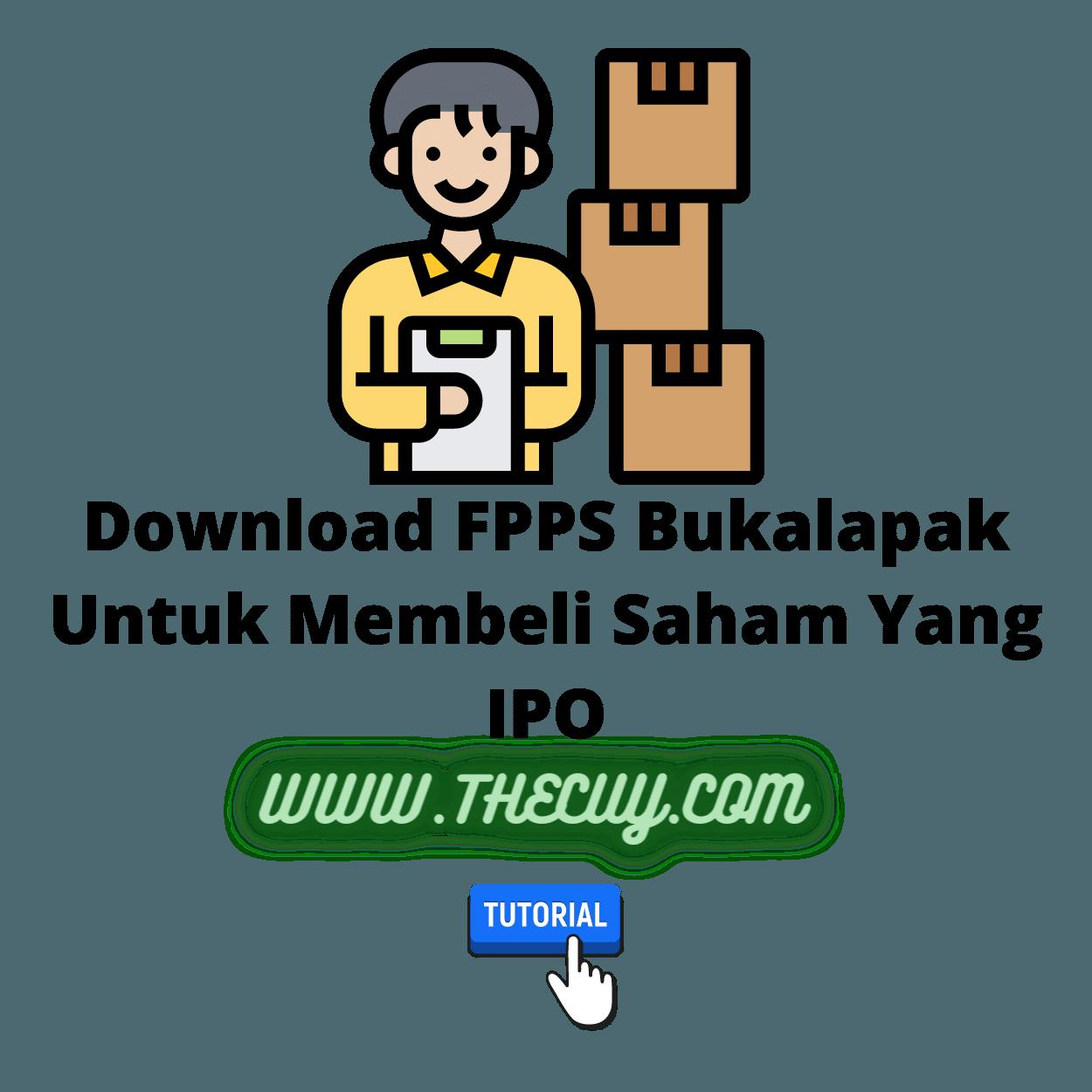 Download FPPS Bukalapak Untuk Membeli Saham Yang IPO